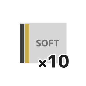 ソフト10本以上