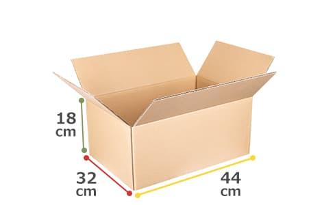 箱小(44cm×32cm×18cm)